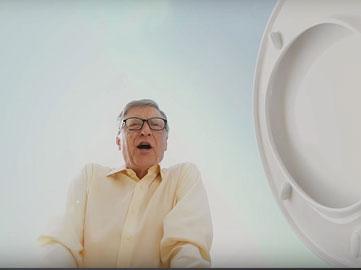 Билл Гейтс и его полезный унитаз